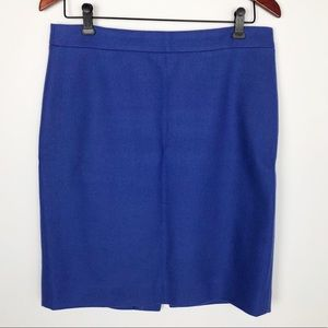 J Crew Pencil Skirt in Periwinkle. 8.